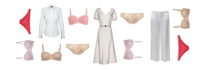 Déze kleur ondergoed draag je onder witte kleding