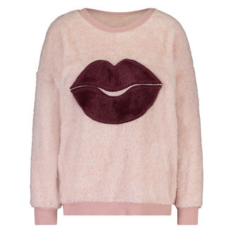 Sweater Fleece, Roze