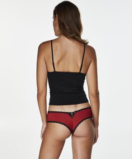 Brazilian V-shape Gracie, Rood