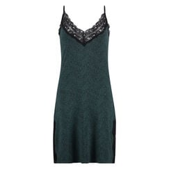Slipdress Jersey lace, Groen