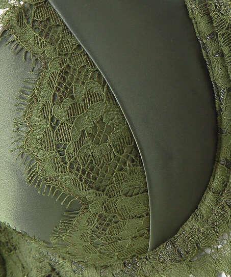 Voorgevormde beugel bh Hannako, Groen
