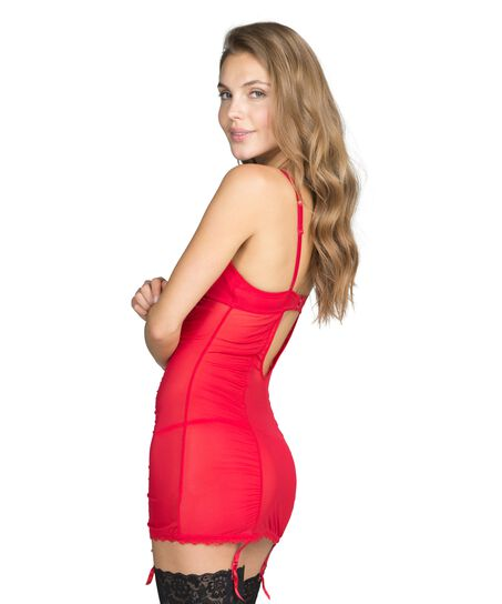 Slipdress Maya, Rood