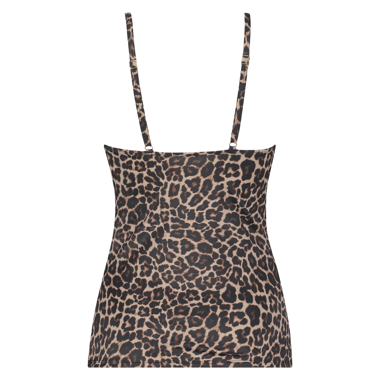 Tankini Leopard, Beige, main