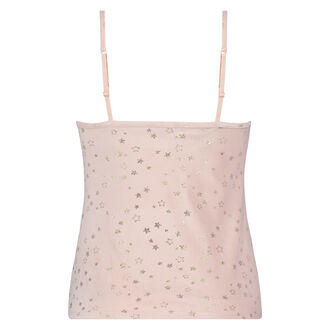 Cami Velours Ster - Pink Ribbon, Roze