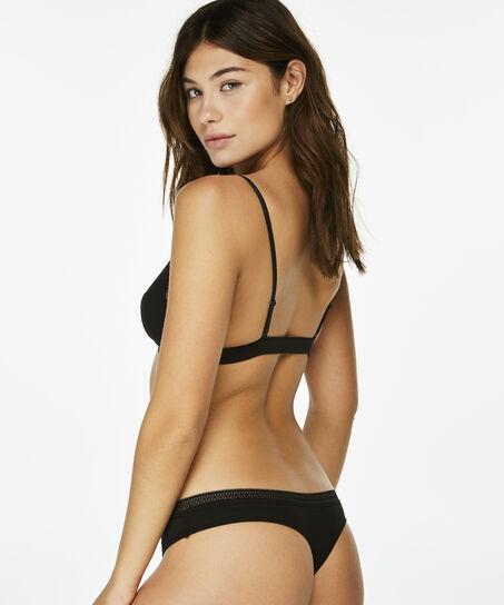 String Lara Cotton, Zwart