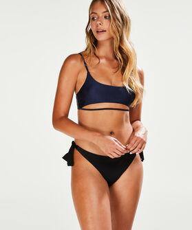 Glow bikini croptop, Blauw
