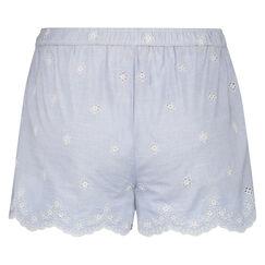 Pyjama short Woven, Blauw