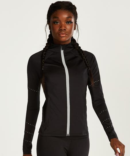 HKMX Run Baby Run Jacket, Zwart
