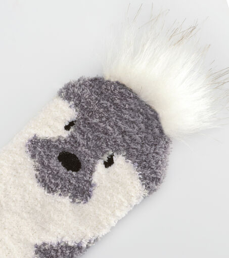 Giftbox cosy socks, Grijs
