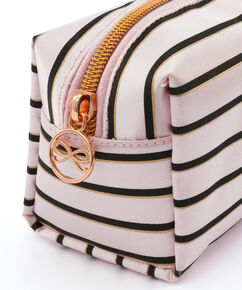 Make up tas Stripe, Roze