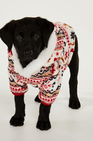Hunkemöller Fleece honden onesie Huidskleur