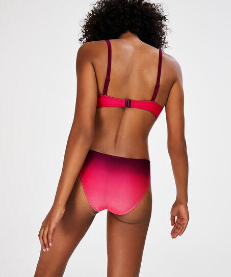 Voorgevormde push-up beugel bikinitop Doutzen, Roze