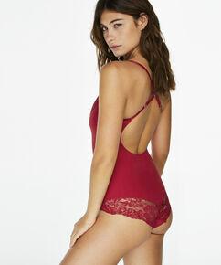 Corrigerende body Belinda, Rood