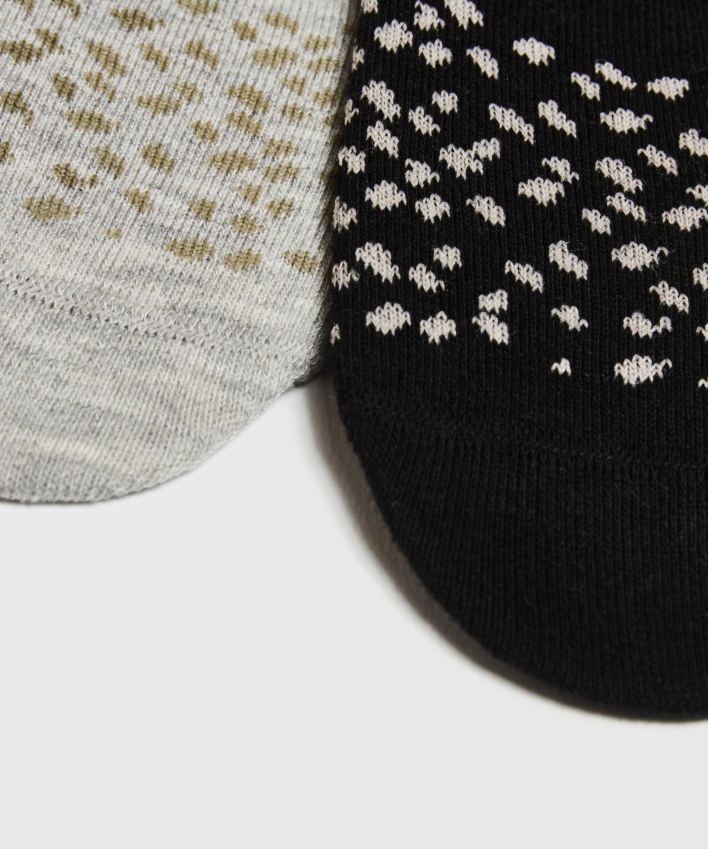 2 paar Sokken, Zwart, main