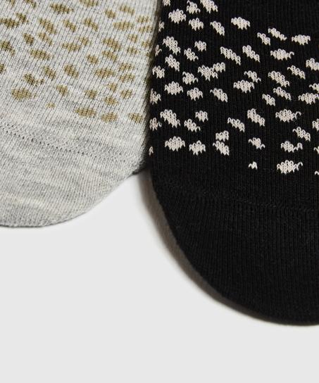 2 paar Sokken, Zwart