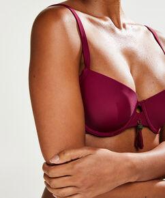 Voorgevormde beugel bikinitop Amanda Queen, Paars