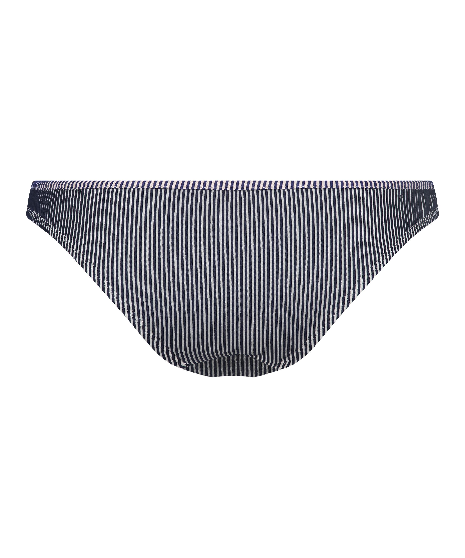 Rio bikinibroekje Ruffle Stripe, Blauw, main