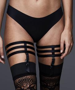 Private suspender cuffs, Zwart