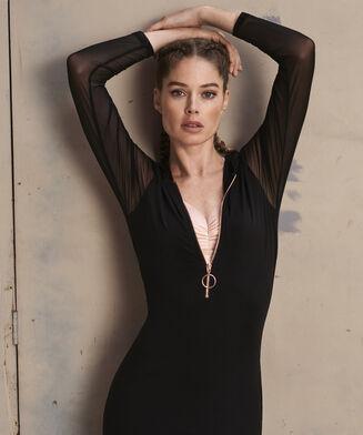 HKMX Sweater Dress Doutzen , Zwart