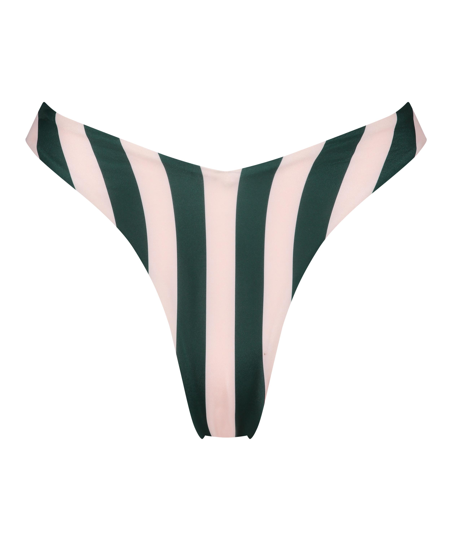 Hoog uitgesneden bikinibroekje Santa Rosa, Groen, main