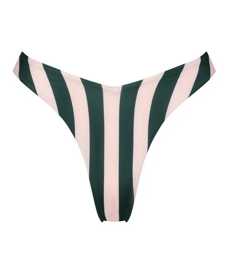 Hoog uitgesneden bikinibroekje Santa Rosa, Groen