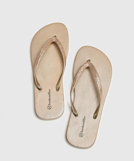 Slippers Fancy, Geel