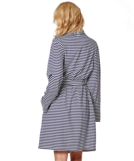Bathrobe Jersey Robe, Blauw