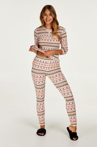 Hunkemöller Cadeauset Lange Pyjama Set Geel