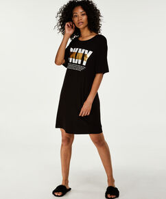 DKNY nachthemd, Zwart