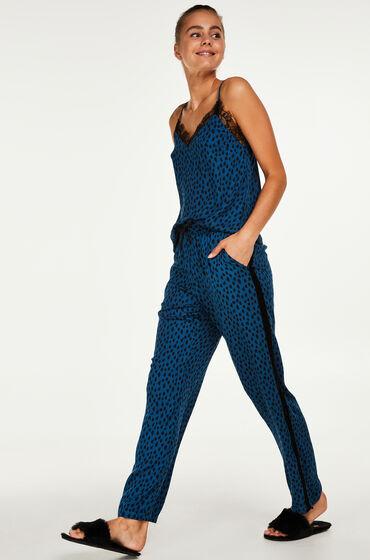 Hunkemöller Pyjamabroek woven Blauw