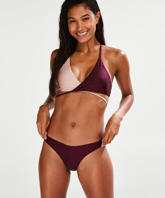 Triangle bikinitop Times Two, Roze