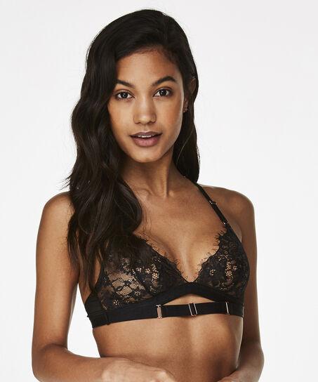 Bralette Mila, Zwart