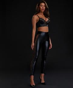 Legging Lace up, Zwart