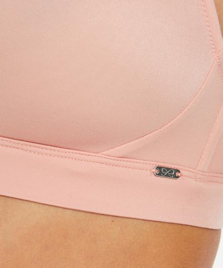 Niet-voorgevormde bh zonder beugel Soft, Roze