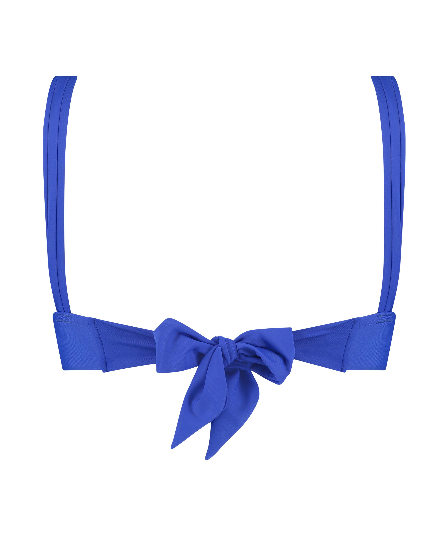 Triangle bikinitop Luxe, Blauw, main