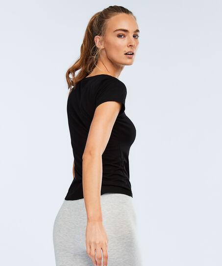 HKMX sport T-shirt , Zwart