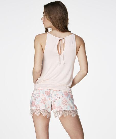Top Crochet, Roze