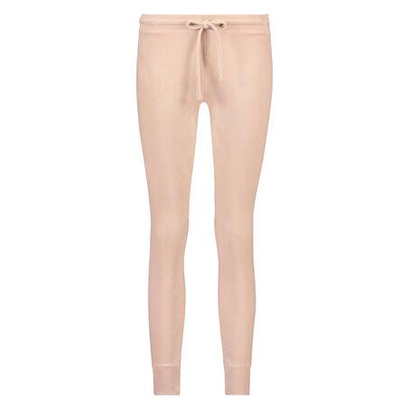 Legging Velours, Roze