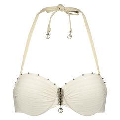 Voorgevormde push-up beugel bikinitop Gold Stripe Goddess Doutzen, Geel