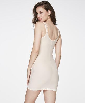 Corrigerende jurk Scallop, Huidskleur