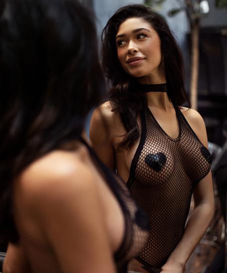 Private Bodysuit, Zwart