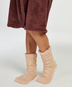 Gebreide Sokken, Wit