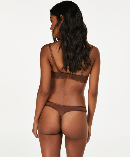 String Angie Nude, Bruin