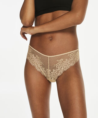 String Invisible lace front micro back, Huidskleur