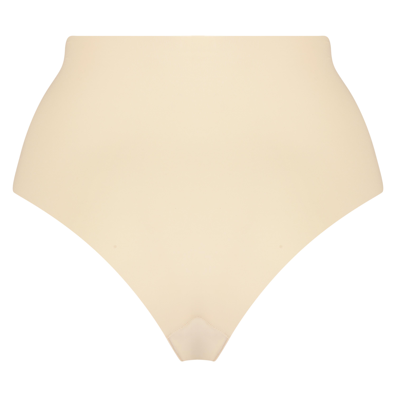 Invisible high waist brazilian, Beige, main