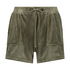Shorts Velours Pocket, Groen