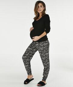 Image of Hunkemöller Zwangerschapslegging Jersey Zwart