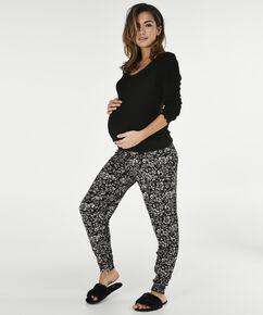 Zwangerschapslegging Jersey, Zwart