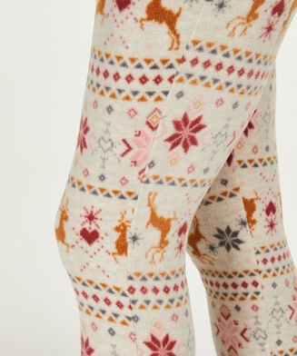 Legging micro fleece, Huidskleur