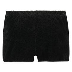 Short Velours, Zwart